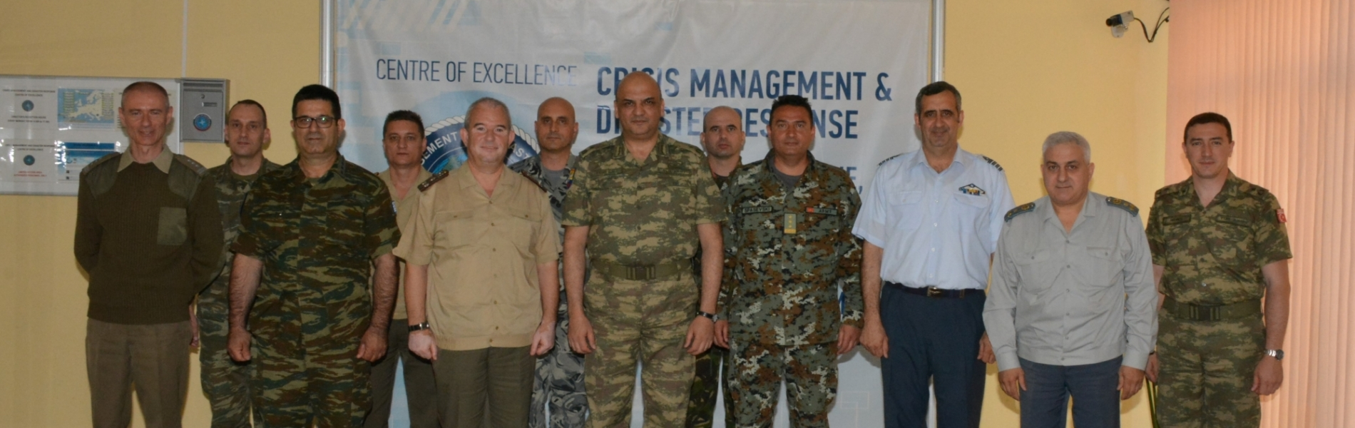 CMDR COE hosted a delegation of SEEBRIG led by Brigadier General Numan Yediyildiz, TUR-A, SEEBRIG Commander,  May 16 2016