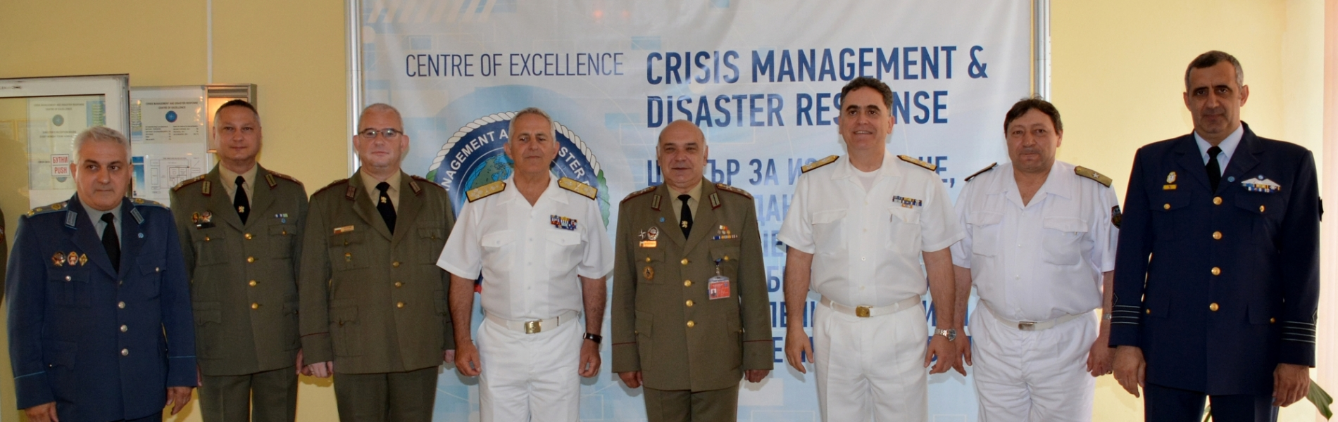 Visit of the Chief of the Hellenic National Defence General Staff - Admiral Evangelos Apostolakis