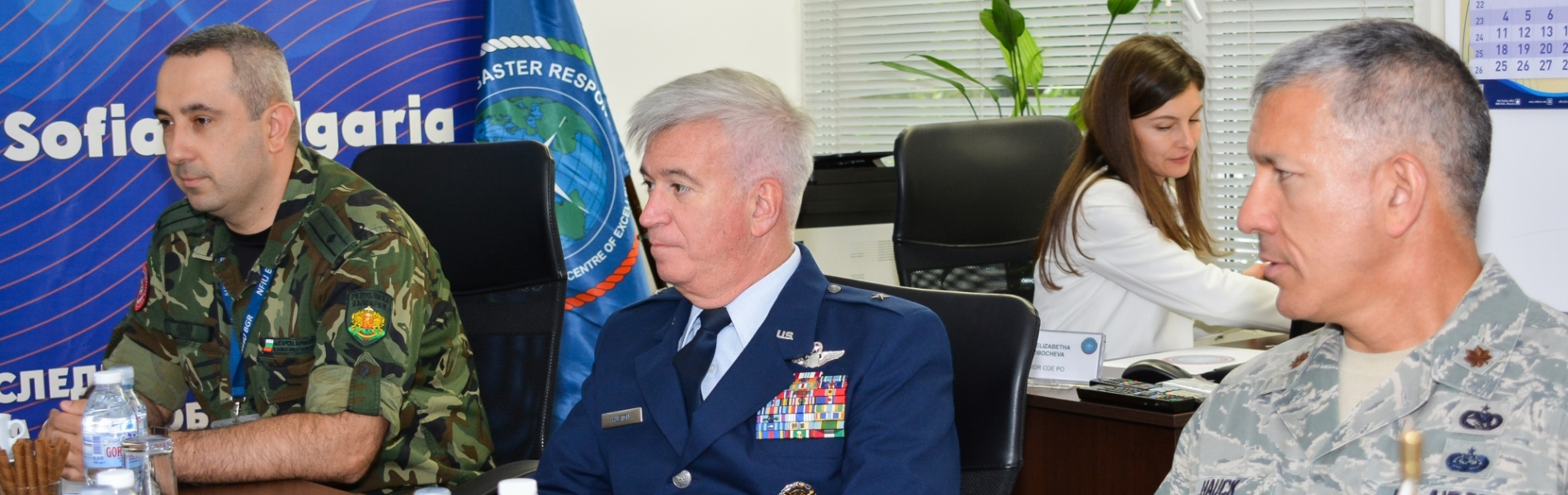 Brigadier General Robert A. Huston Pays Official Visit to CMDR COE