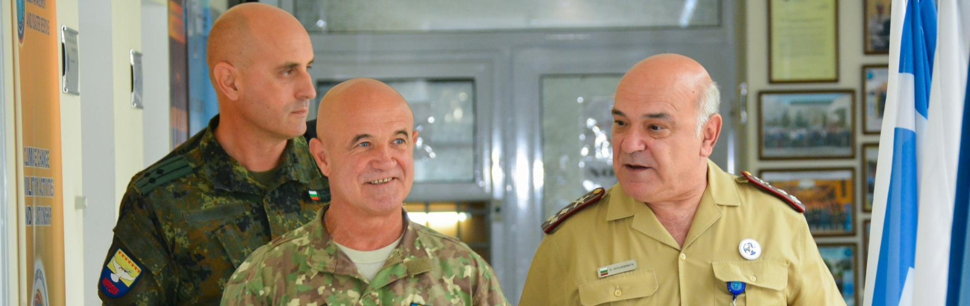 Brigadier General Tudorica PETRACHE, SEEBRIG Commander official visit to the CMDR COE