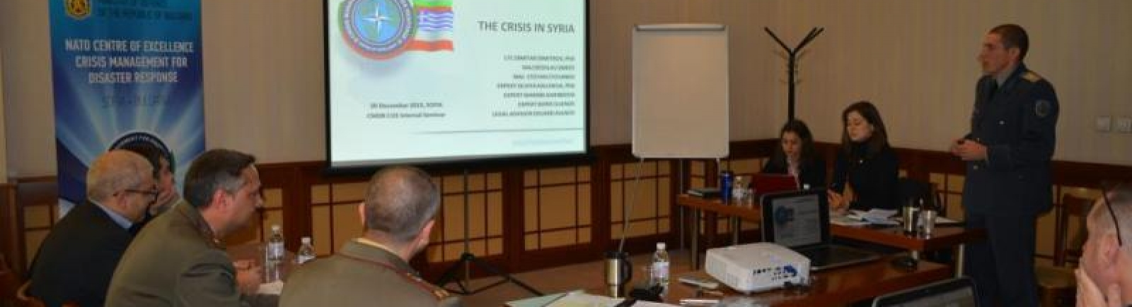 Internal CMDR COE Seminar on the Crisis in Syria