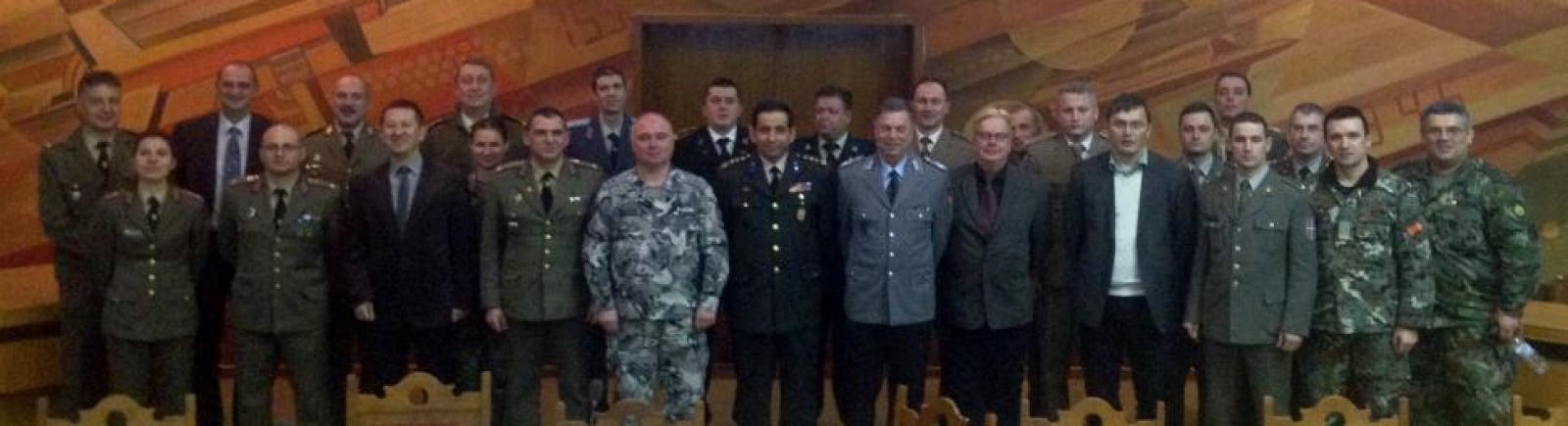 CMDR COE Supports Ex-Balkan Bridges`2015 IPC