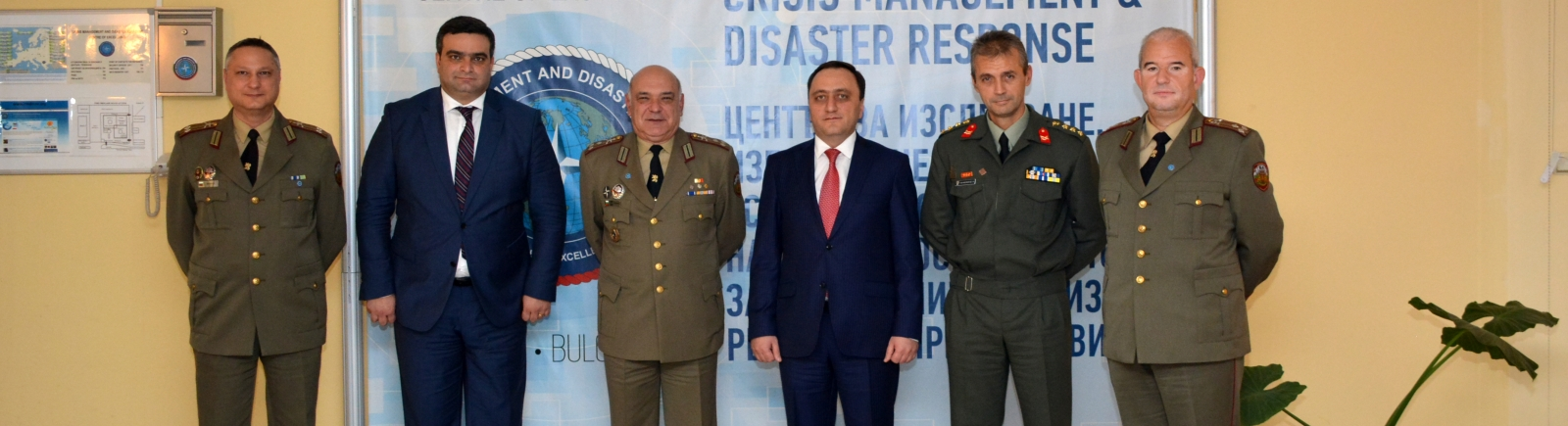 Armenian Ministry of Defence Delegation Visits CMDR COE