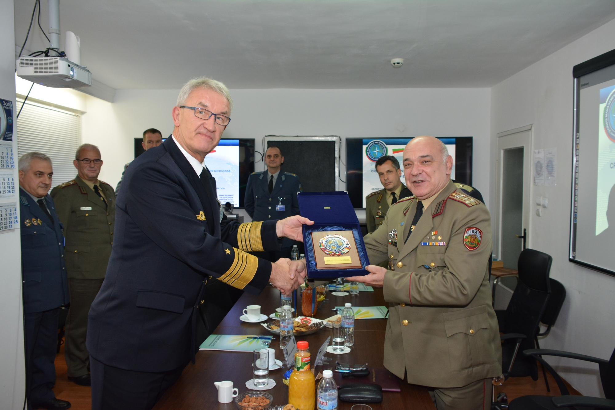 CMDR COE Welcomes Deputy Supreme Allied Commander Transformation (DSACT) Admiral Manfred Nielson