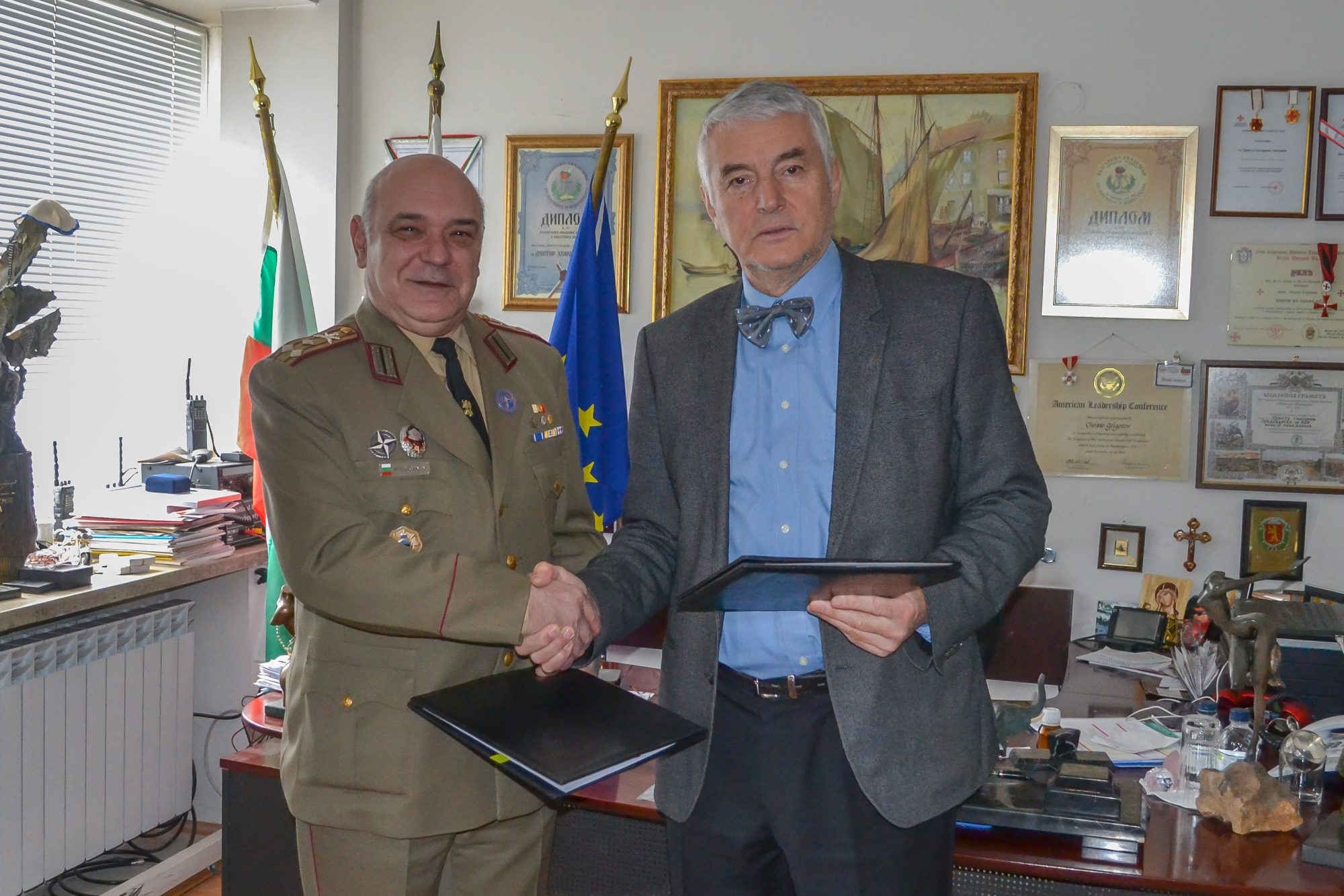 Crisis Management and Disaster Response Centre of Excellence and Bulgarian Red Cross Sign Cooperation Agreement