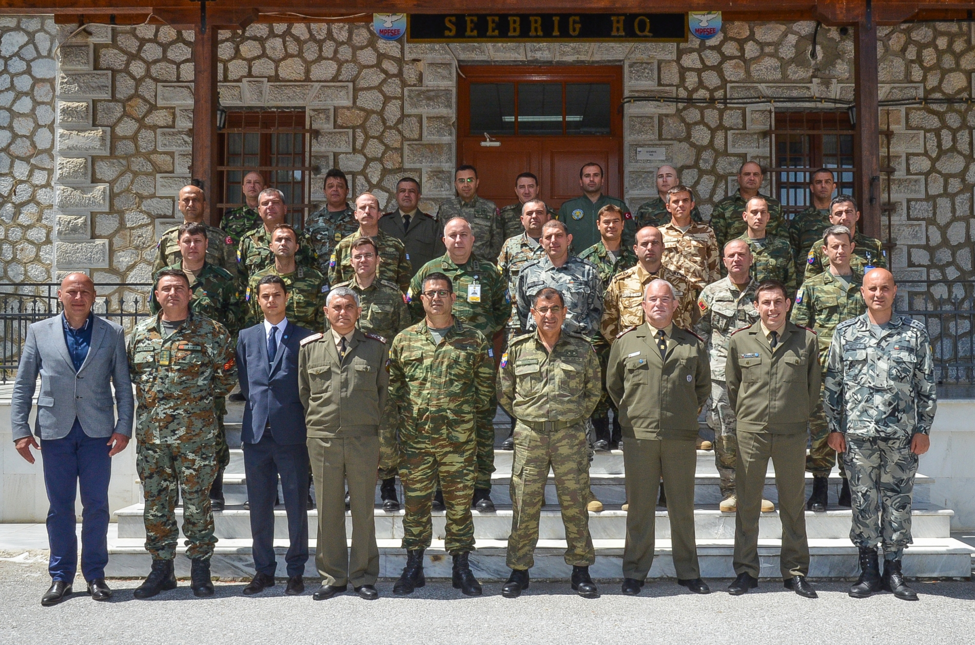 CMDR COE Mobile Education and Training Team (METT) successfully conducted a Disaster Relief Operations Course at South-Eastern Europe Brigade (SEEBRIG) HQ