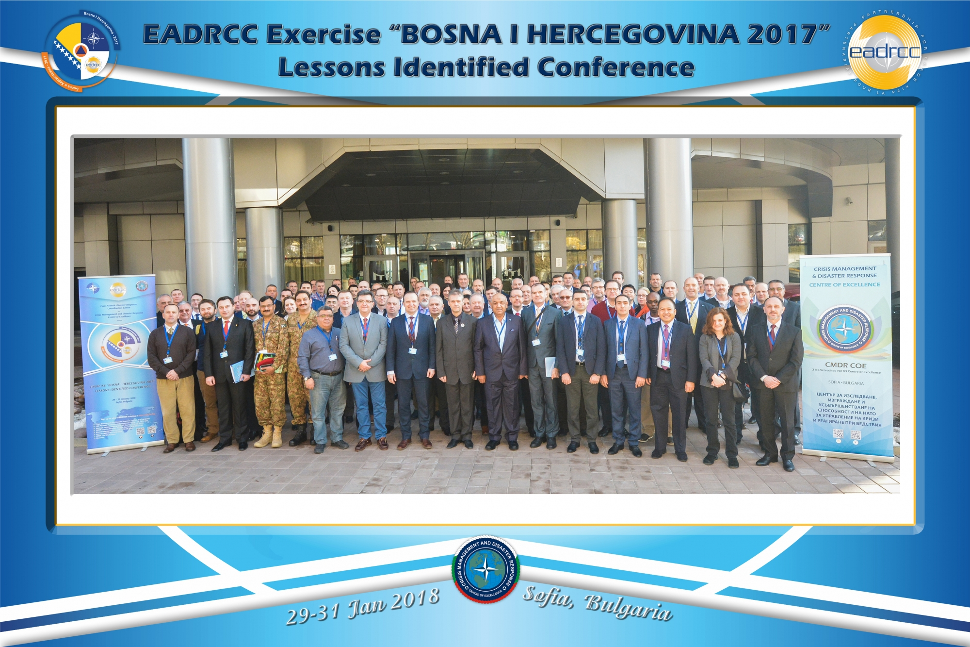 """BOSNA I HERCEGOVINA 2017"" Lessons Identified Conference opens today"