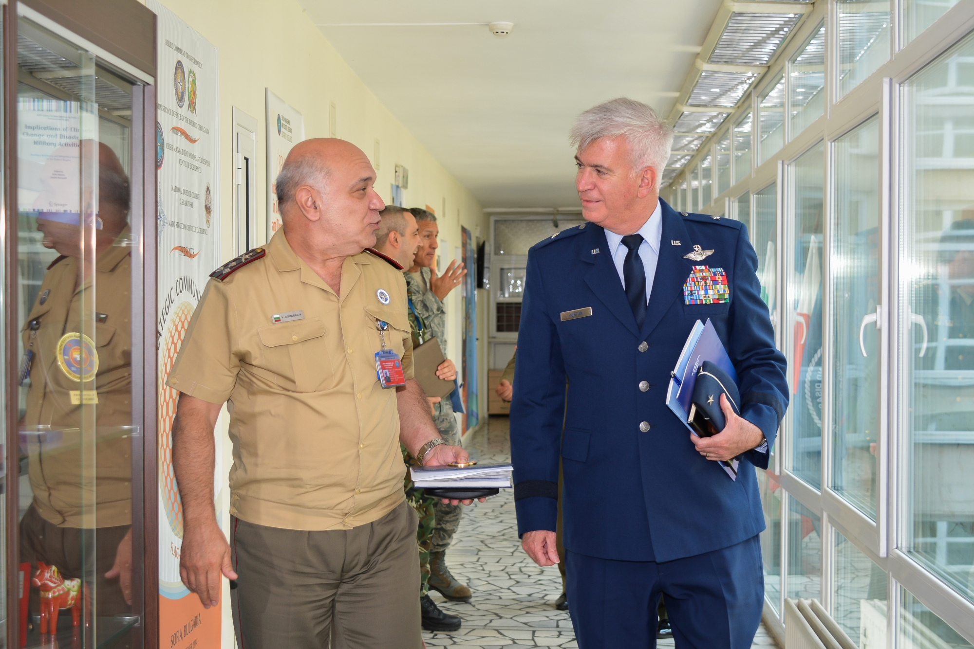 BG Robert A. Huston Pays Official Visit to CMDR COE