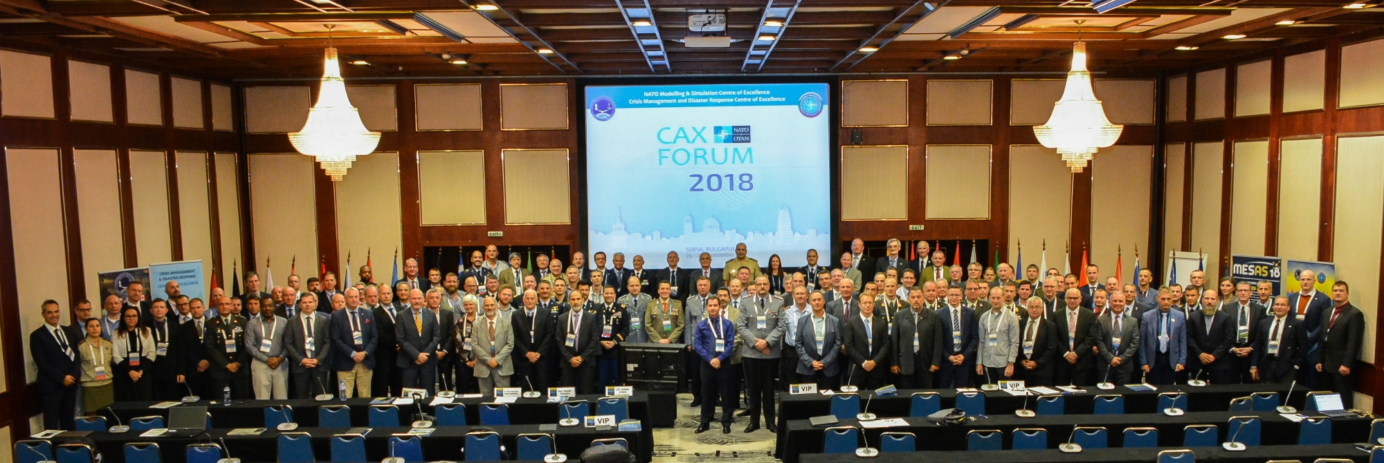 13th NATO Computer Assisted Exercise Forum (NATO CAX Forum 2018)