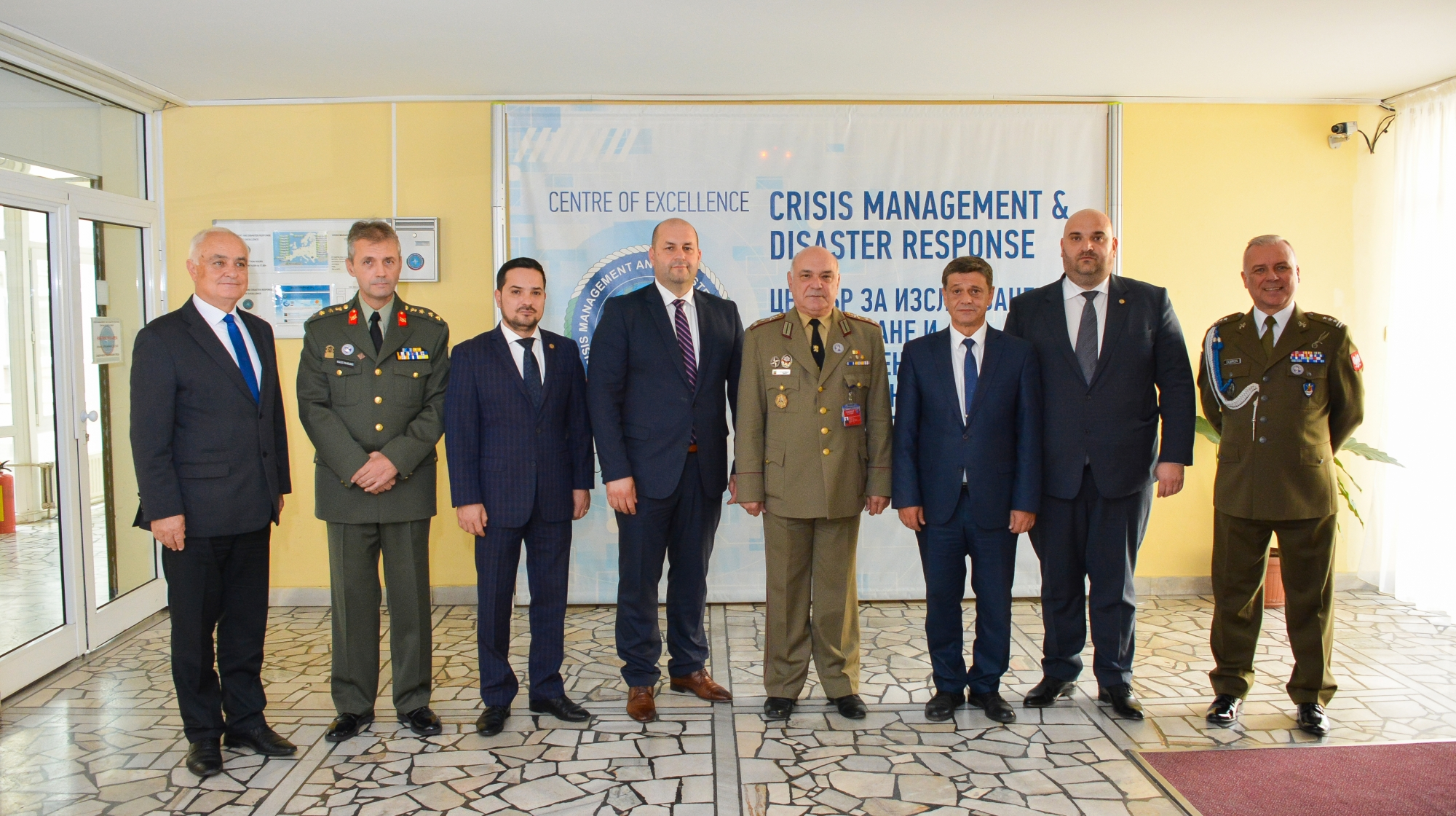 Visit from the Romanian Parliamentary Committee for Defence, Public Order and National Security