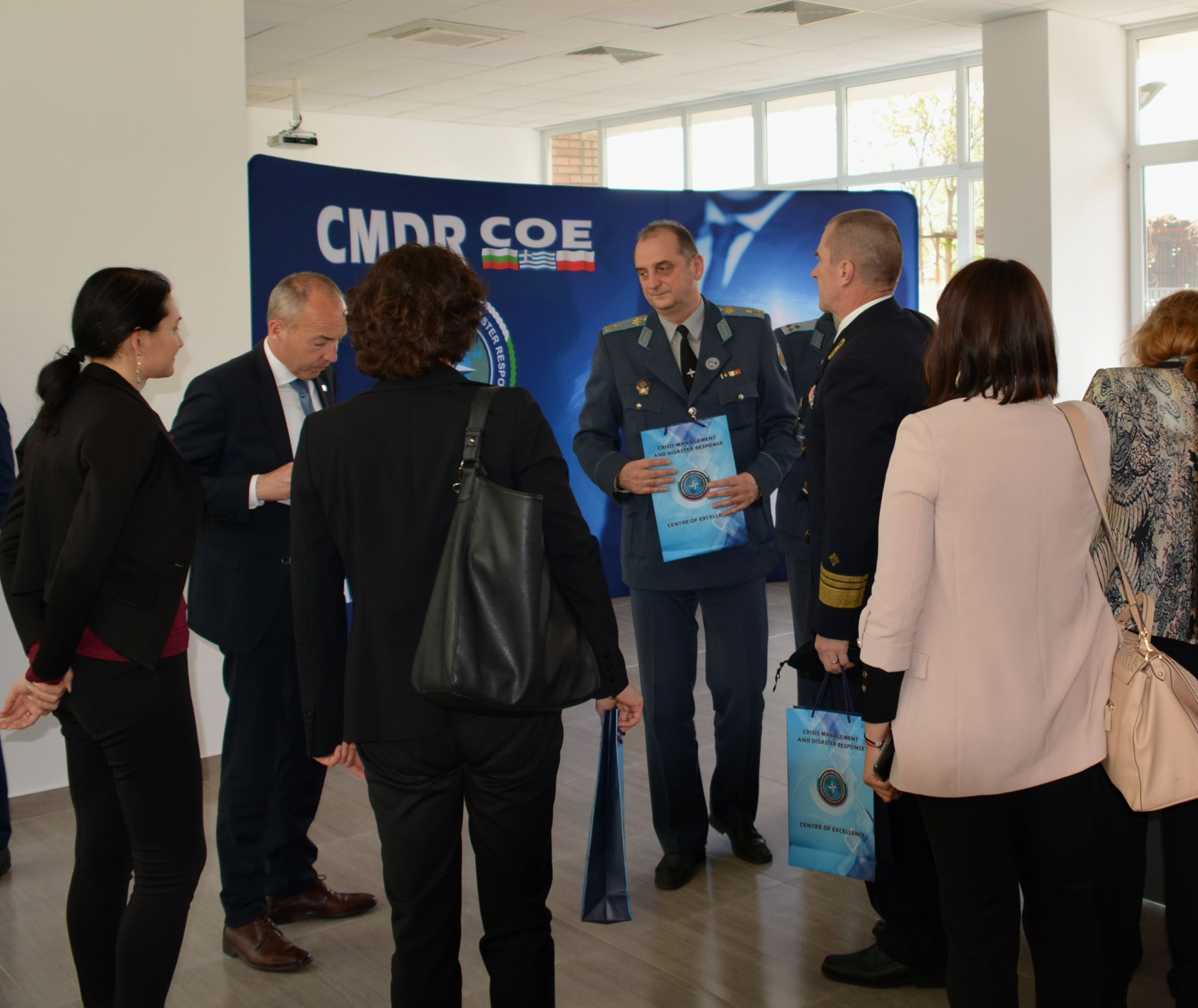 High-level Visit of the Croatian Deputy Prime Minister and Minister of Defense
